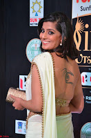 Varalakshmi in Cream Saree Sleeveless Backless Deep Neck Choli at IIFA Utsavam Awards March 2017 015.JPG
