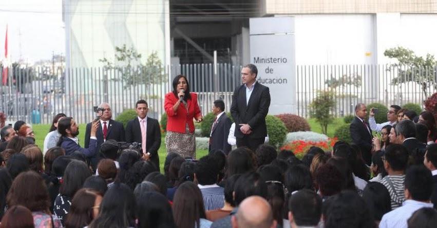Vamos al Congreso a defender nuestra propuesta pedagógica, sostuvo la Ministra de Educación Flor Pablo Medina - www.minedu.gob.pe