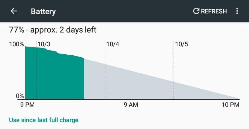 Battery Life - Torque EGO Phab 3G+