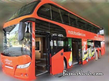 Motobus, allternatif pengiriman sepeda motor lewat bus.