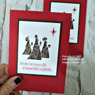 Wise Men From Afar Stampin up Christmas Card