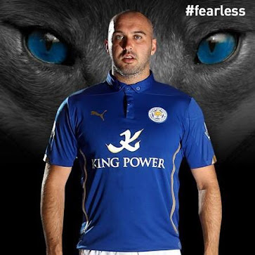 0b8371dc3 This is the new Puma Leicester City 2014-2015 Home Jersey.