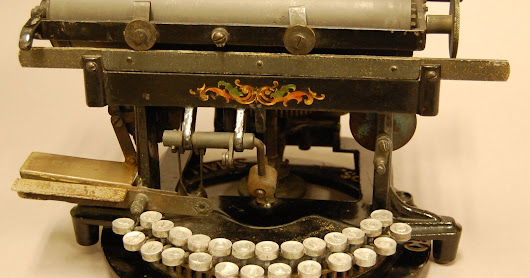 Throwback Thursday Object: Todd's Improved Edison-Mimeograph Typewriter