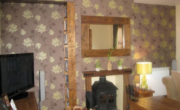 lenaquestaosocial feature wall wallpaper. Black Bedroom Furniture Sets. Home Design Ideas