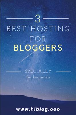 best hosting for new blogger