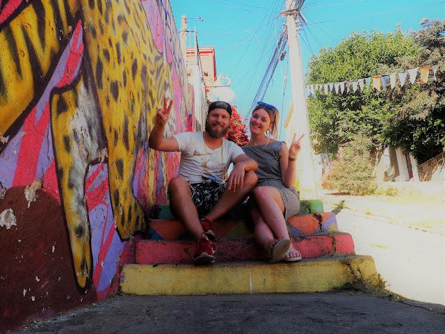 Valparaiso, Chile, Streetart