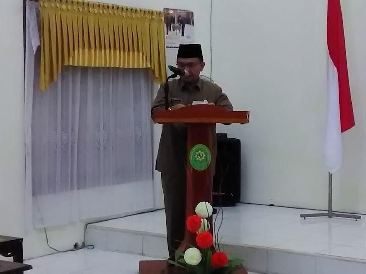 Adirozal Hadiri Deklarasi Bebas dari Korupsi Di Pengadilan Agama Sungaipenuh