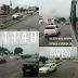 Entrada e saída da região norte da capital pela ponte Igapó com boas condições de tráfego