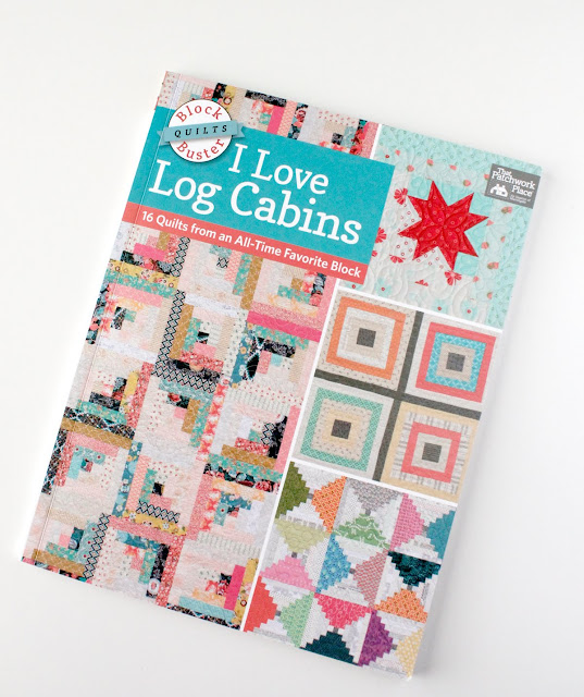 Fun new book from Martingale called I Love Log Cabins