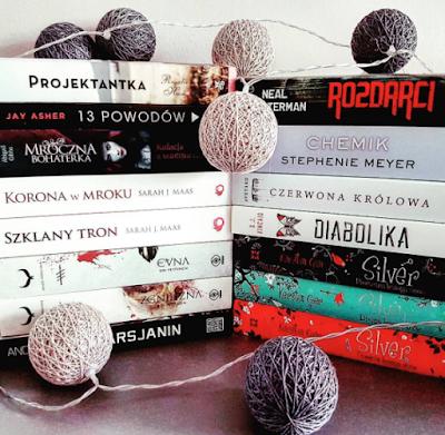 Book haul - KWIECIEŃ