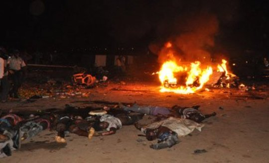 Double bomb blasts rock Abuja Police station, market...scores feared dead