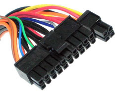 ATX Power Connector (20pin +4 pin)