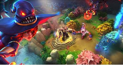 Download Heroes of Order & Chaos APK Top 5 Game MOBA Android Terbaik Mirip DotA