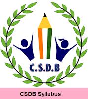 CSDB Syllabus 2017