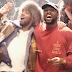 Kanye West e Kid Cudi estiveram juntos na  China