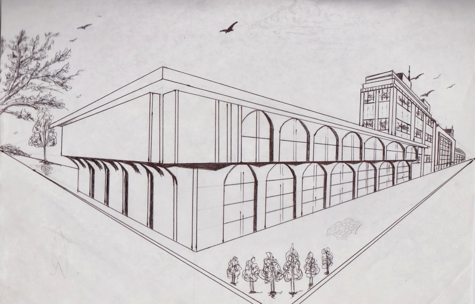 perspectiva edificios