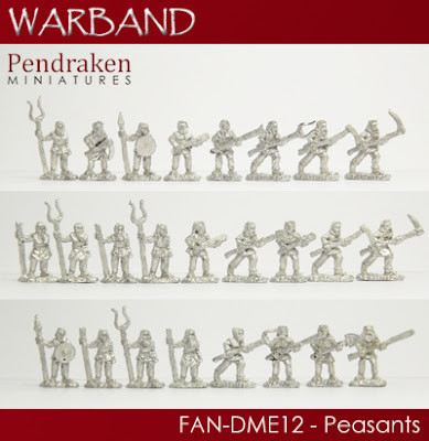 FAN-DME12   25 x Peasants