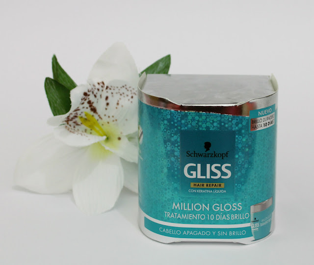 Tratamiento 10 días brillo Gliss Million Gloss de Schwarzkopf