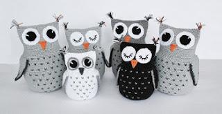 Owl Amigurumi -Free Amigurumi Pattern | Craft Passion | 165x320
