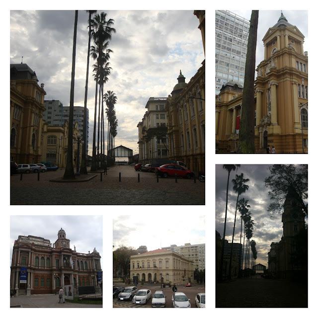 Praça da Alfândega e centro histórico, Porto Alegre