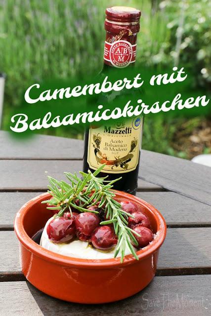 Camembert mit Balsamicokirschen