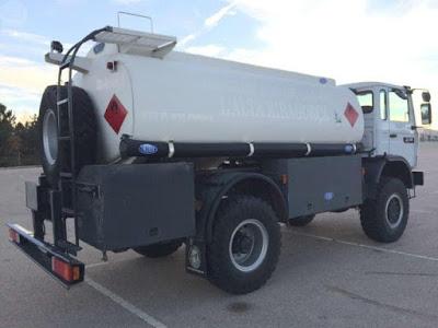 Tanques septicos en los camiones