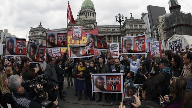 Estado argentino niega responsabilidad en desaparición de Maldonado