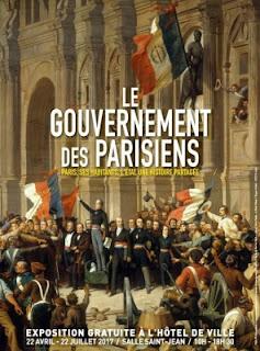 Le Gouvernement des Parisiens, Exposition à l'Hôtel de Ville