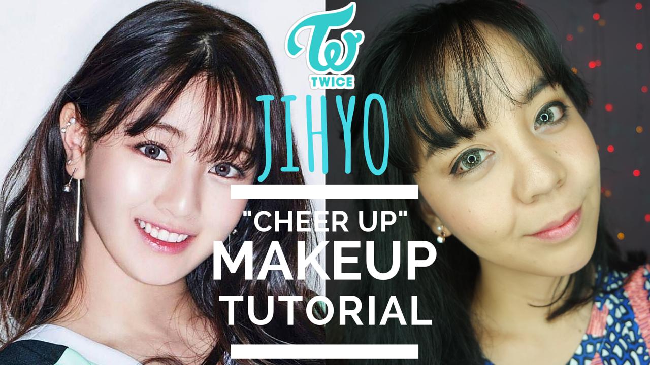 Twice jihyo cheer up makeup tutorial utotia beauty blog twice jihyo cheer up makeup tutorial baditri Image collections
