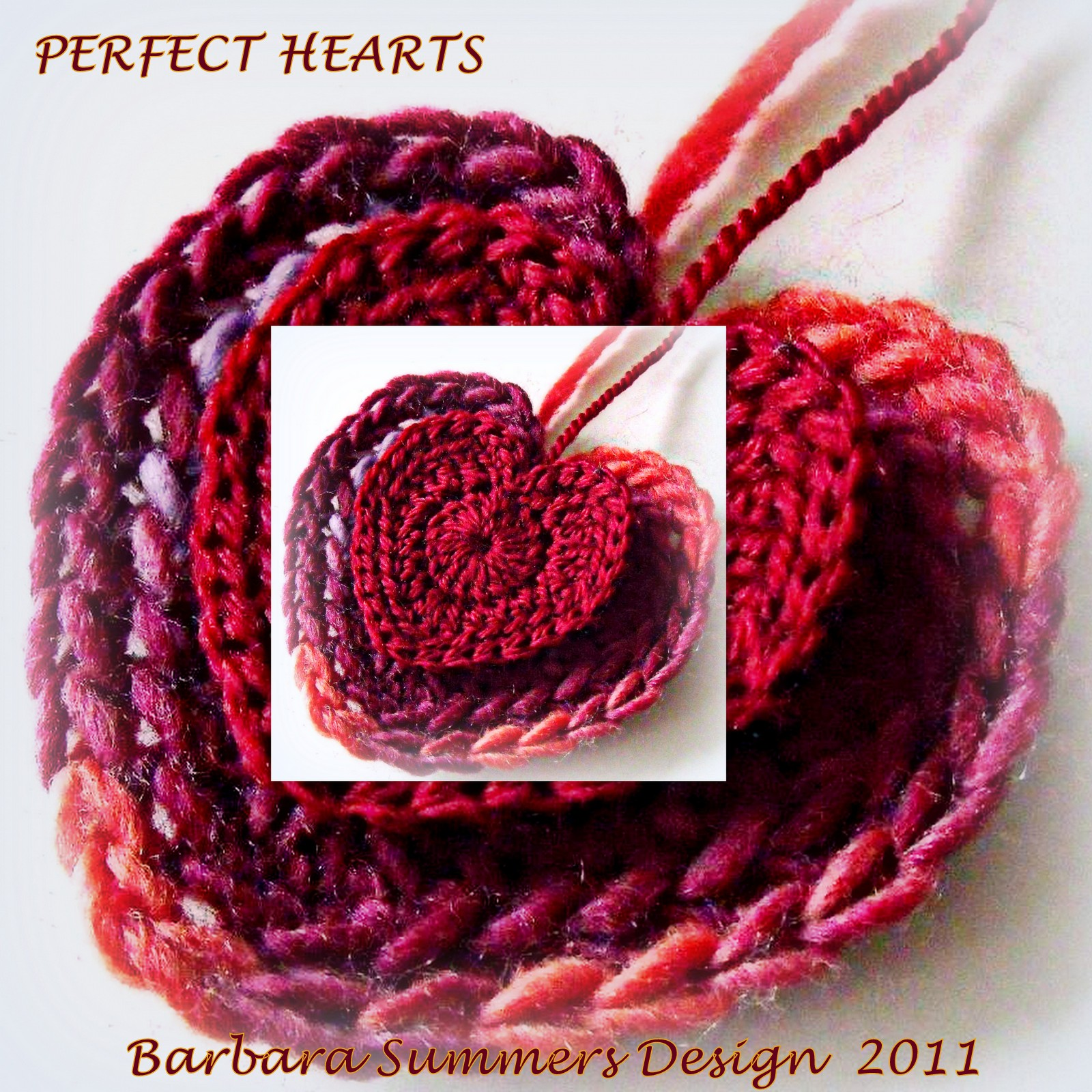 Microcknit Creations Perfect Hearts Filling You With Love