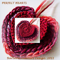 crochet patterns, how to crochet, hearts, hearts garlands, hearts bunting, motifs,