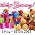 BIRTHDAY GIVEAWAY NOVEMBER