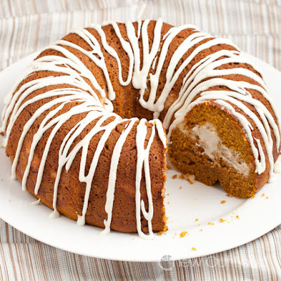 Pumpkin Cheesecake Bundt Cake