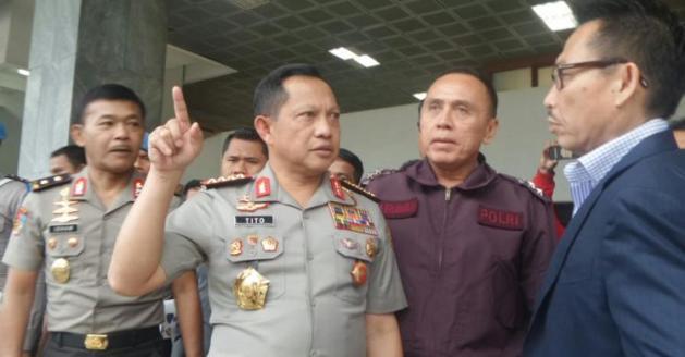 Kapolri: Antasari ke Mabes Laporkan Anggota Polri, Bukan SBY