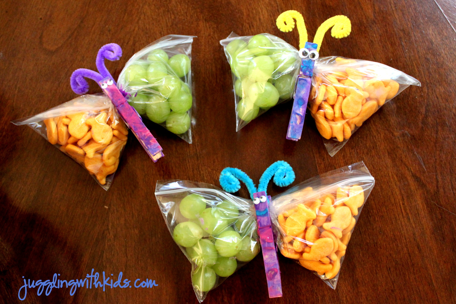 Butterfly Snack Ideas Valentine Craft Bag Ideas