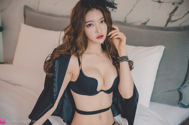 Park Jung Yoon - Lingerie Set - very cute asian girl - girlcute4u.blogspot.com (1)