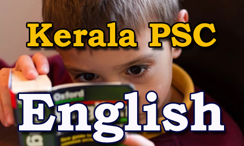 Expected Question and Answers Kerala PSC - English 1