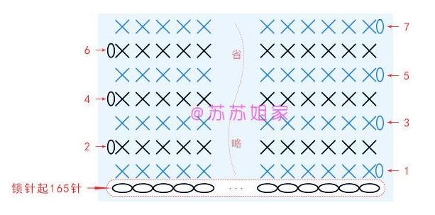 Вязаный крючком клатч. Схемы вязания (6)