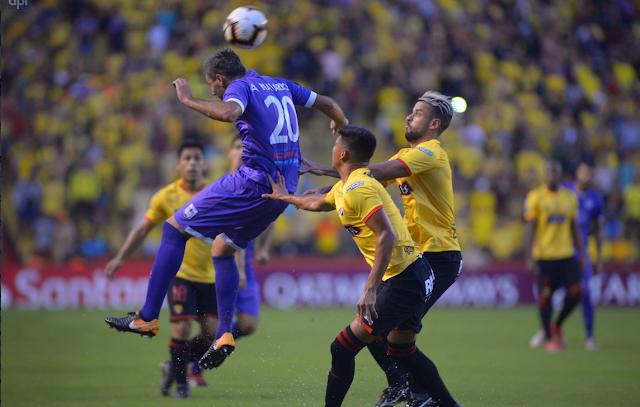 Barcelona de Ecuador eliminado de la Copa Libertadores