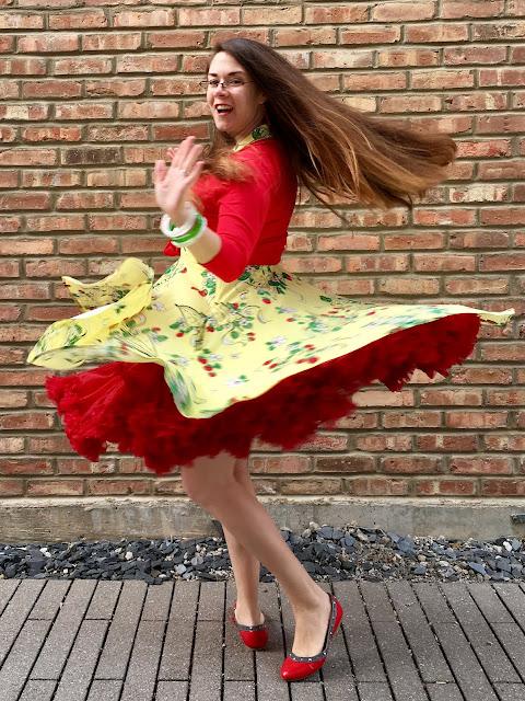 Trashy Diva Berry Chantilly Hopscotch twirl
