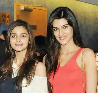 Kriti Sanon Bollywood Actress Biography, Hot HD Photos With Alia Bhatt Without Makeup