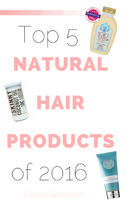 Top five natural hair products - ClassyCurlies