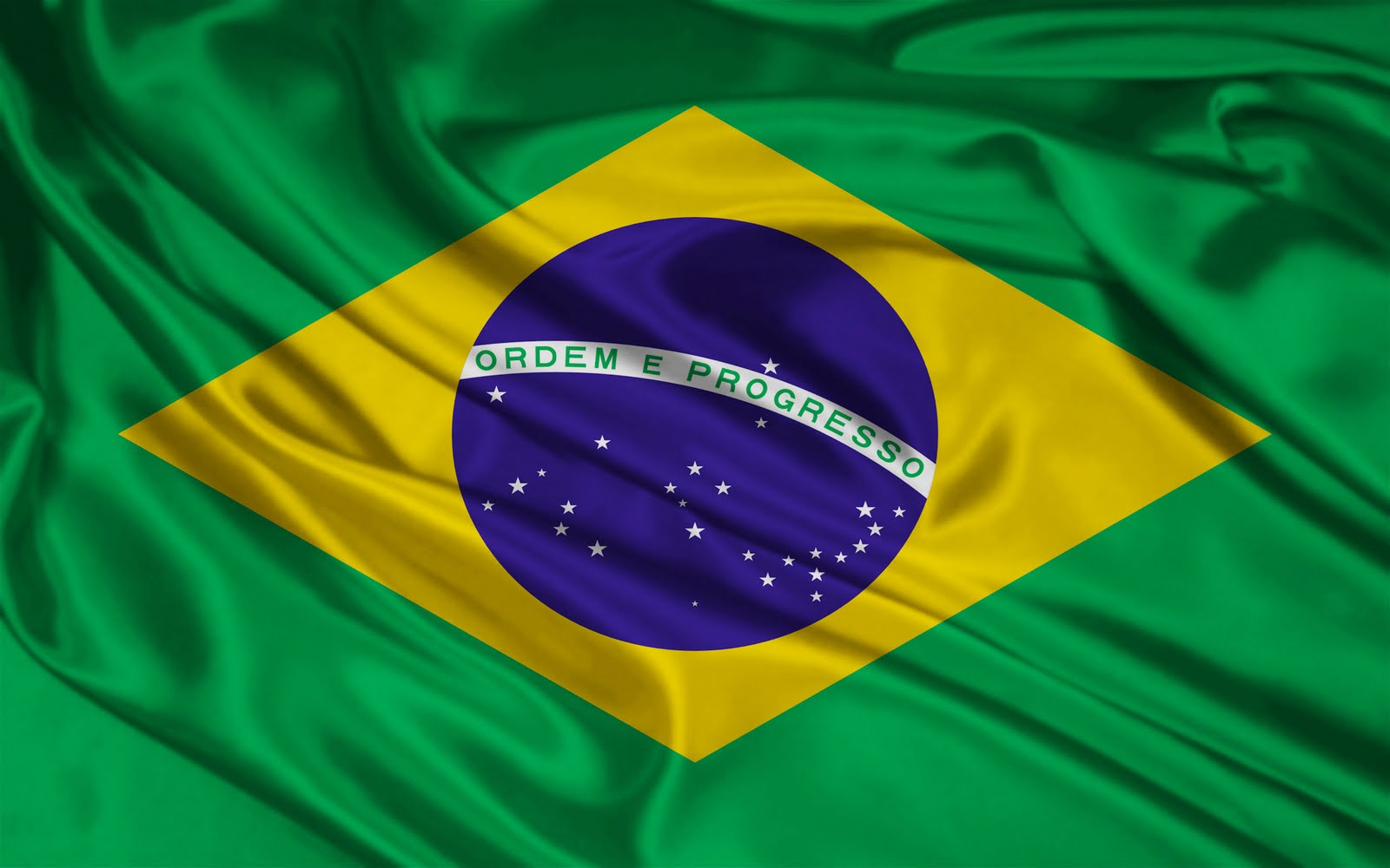 Graafix!: Wallpaper Flag of Brazil