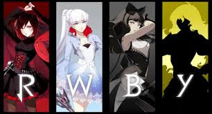 Rwby Red White Black Yellow