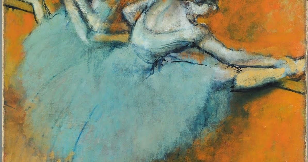 Degas Dancers Pastel