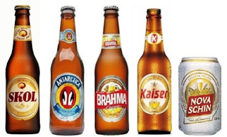 marcas cervejas brasileiras