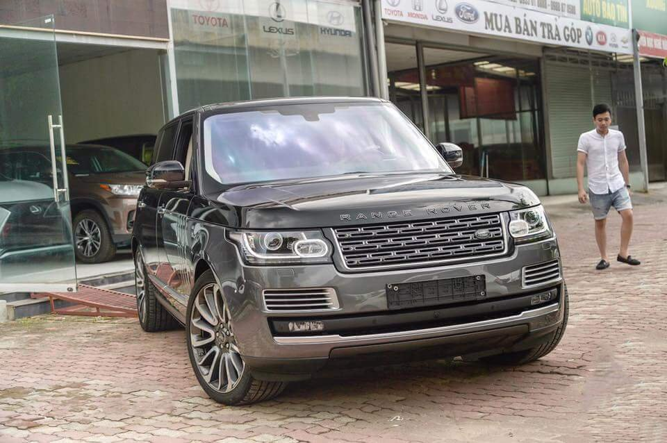 Range Rover SVAutobiography Hybrid Máy Dầu