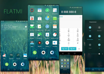 Download New Theme Flatmi For Emui 4.0 Huawei Themes hwt