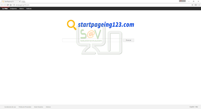 StartPageing123.com (Hijacker)