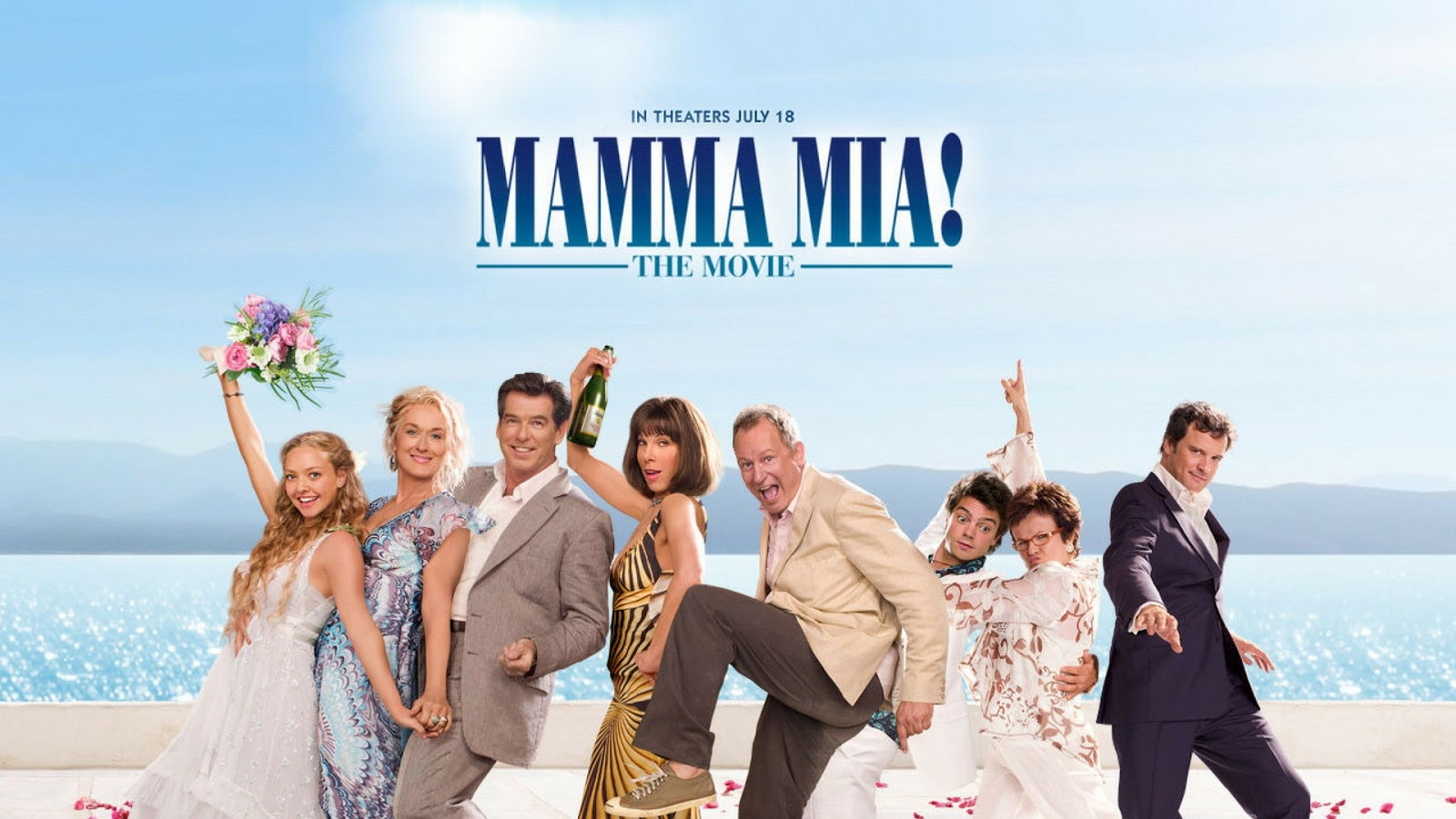 mamma mia, movies, musical, amanda seyfried, panasonic, greece